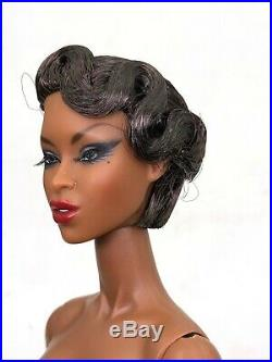 Fashion Royalty Integrity Toys Adele Makeda Exquise Nude Doll Black Skin