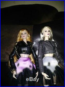 Fashion Royalty NuFace Reckless Collection Trouble Eden & Smoke Lilith Dressed