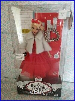 Integrity Toys Dynamite Girls Jett Doll, Jolly Jett blonde Christmas doll NRFB