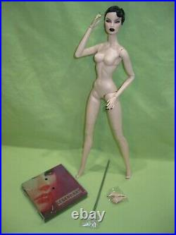 LEGENDARY CONVENTION Fashion Royalty EUGENIA Wicked Narcissism NUDE Doll +Hands
